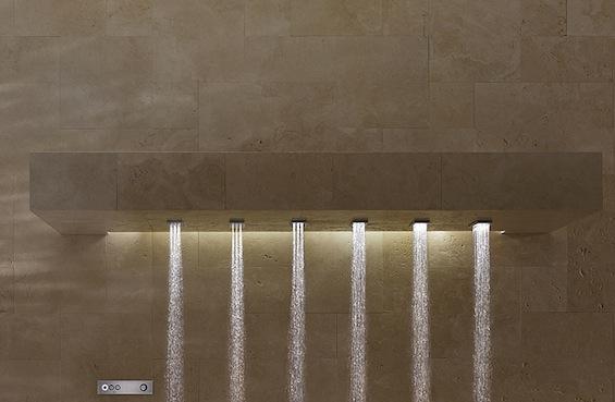 horizontal shower by dornbracht just3ds. Black Bedroom Furniture Sets. Home Design Ideas