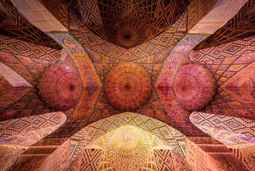 5 - Nasir Al-Mulk Mosque Shiraz Iran just3ds.com