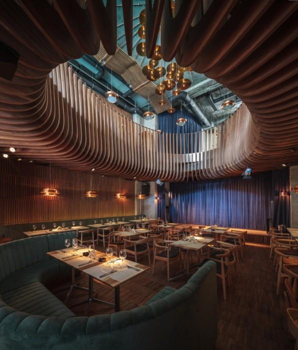 Ceiling-walls-club-restaurant-Bucharest-just3ds.com-1