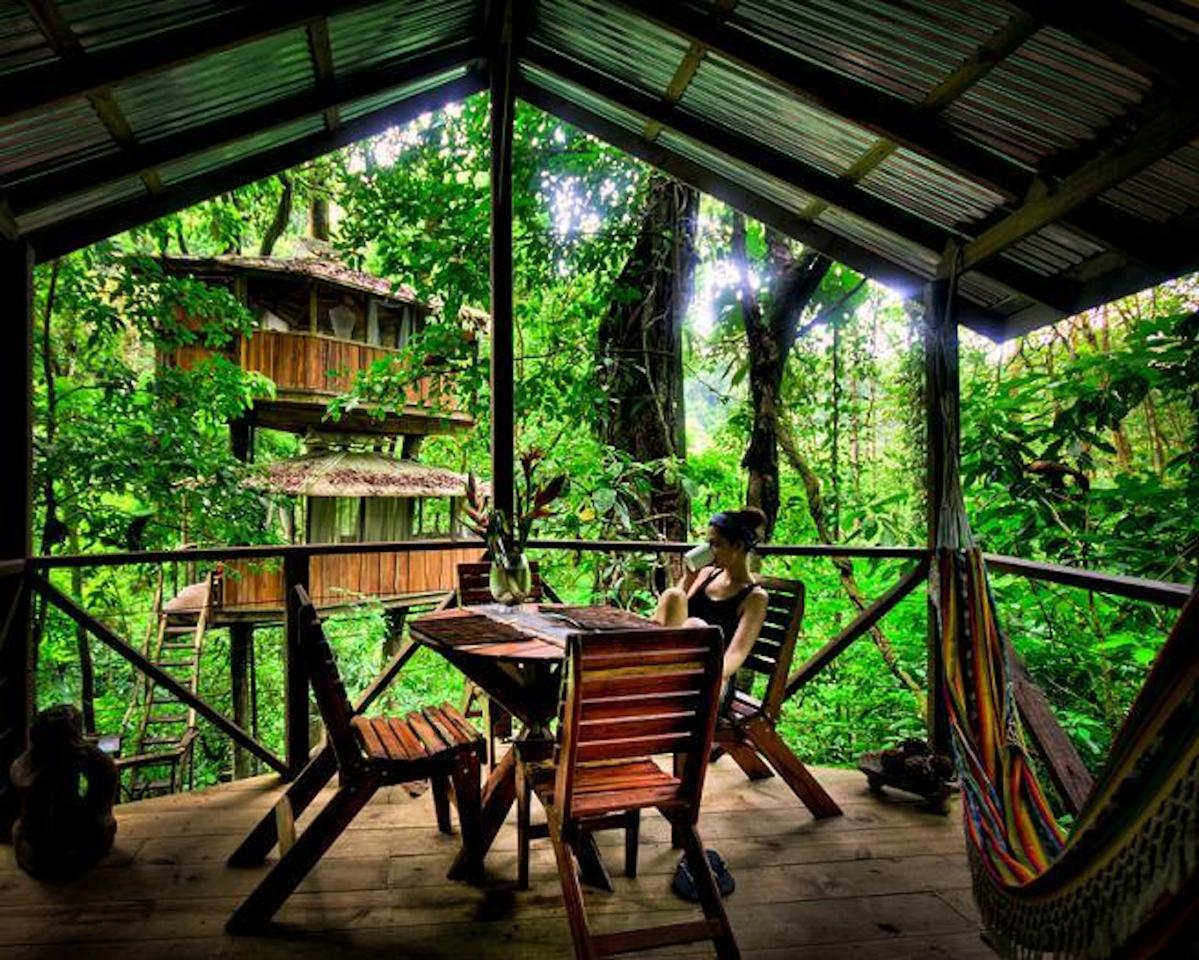 15 most amazing treehouses just3ds for Tree house for sale costa rica