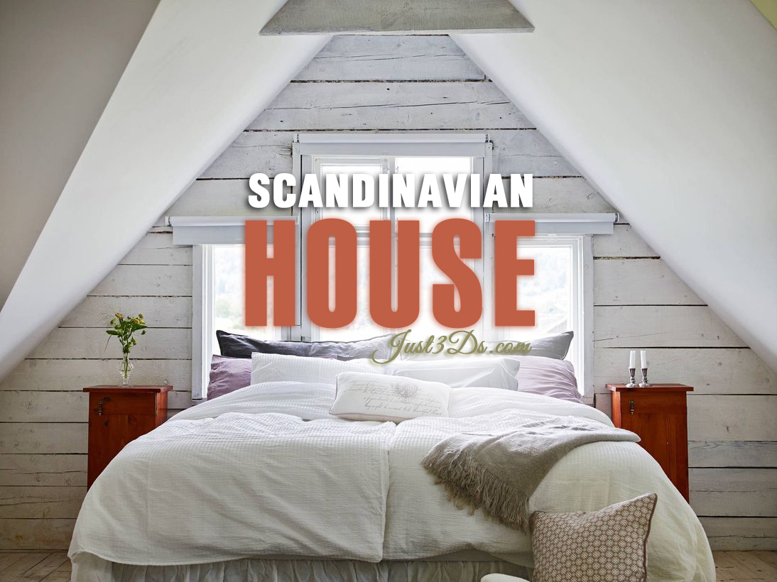 Scandinavian-house-just3ds.com